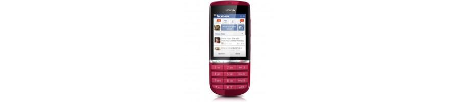 Reparación de Móviles Nokia Asha 300 [Arreglar Piezas]