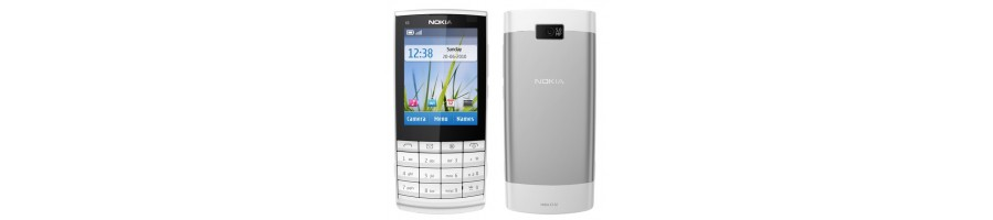 Reparación de Móviles Nokia X3-02 [Arreglar Piezas]