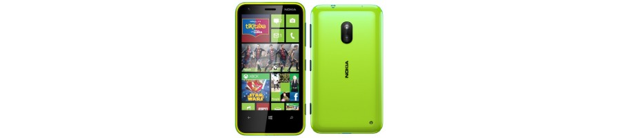 Reparación de Móviles Nokia Lumia 620 [Arreglar Piezas]