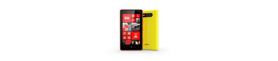 Reparación de Móviles Nokia Lumia 820 [Arreglar Piezas]