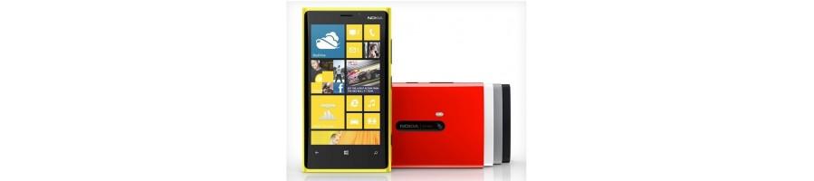 Reparación de Móviles Nokia Lumia 920 [Arreglar Piezas]