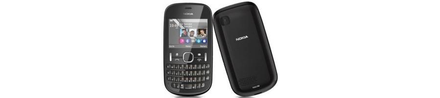Venta de Repuestos de Móviles Nokia Asha 200 Online Madrid