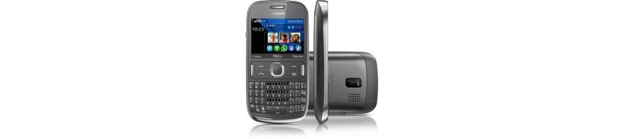 Reparación de Móviles Nokia Asha 302 [Arreglar Piezas]