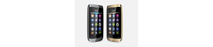 Reparación de Móviles Nokia Asha 308 [Arreglar Piezas]