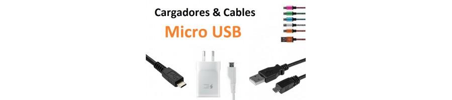Micro Usb Cargadores y Cables