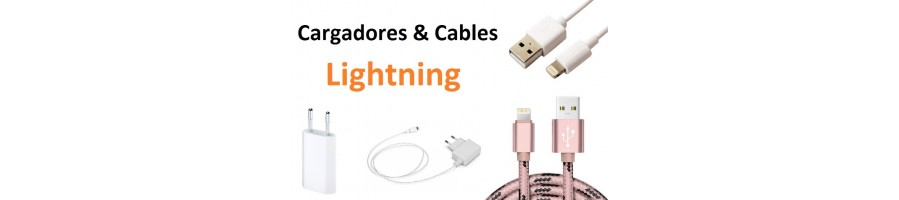 Lightning Cargadores y Cables