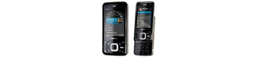 Reparación de Móviles Nokia N81 [Arreglar Piezas] Madrid