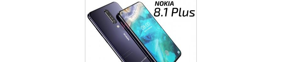 Comprar Repuestos Móvil Nokia 8.1 Plus / X71 Online