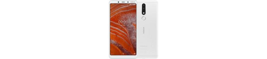 Comprar Repuestos Móvil Nokia 3.1 Plus ¡Pieza Original!