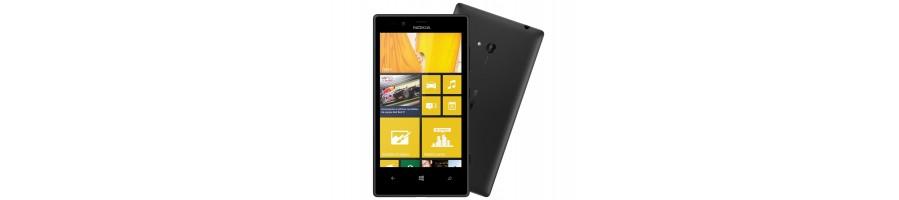 Todo tipo de Accesorios, Repuestos, Fundas y Liberaciones para su Nokia Lumia 720