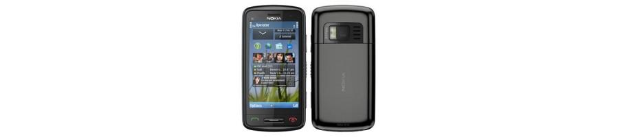 Todo tipo de Accesorios, Repuestos, Fundas y Liberaciones para su Nokia C6-01