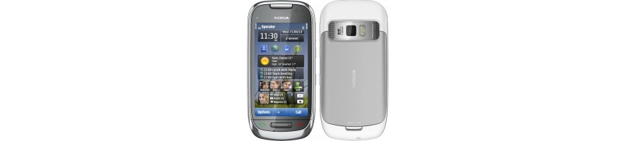 Todo tipo de Accesorios, Repuestos, Fundas y Liberaciones para su Nokia C7
