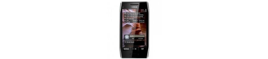 Todo tipo de Accesorios, Repuestos, Fundas y Liberaciones para su Nokia X7